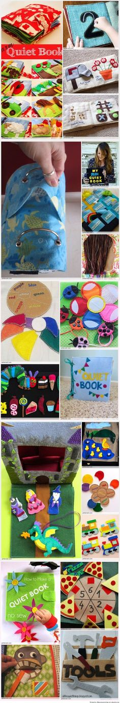 Quiet Book Patterns and Ideas
