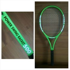 『TOALSON POWER SWING RACKET 500 』   500グラムの重い練習用ラケット。    2014.10.05