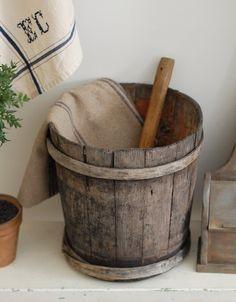 Old buckets...