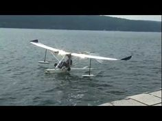 ▶ Lazair Electric, Amphibious and Soars Dale Kramer angelica14709 - YouTube