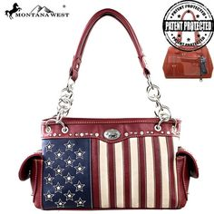 Flag Lovers Concealed Carry Purse