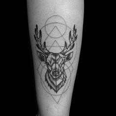 Tattoo cervo