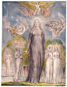 THE HIGH PRIESTESS 2 - Melancholy - William Blake