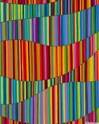 Quick quilt if you use various colored stripped fabric !