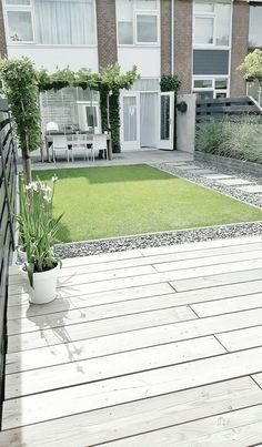 Back Garden Design, Modern Garden Design, Backyard Garden Design, Small Backyard Landscaping, Landscaping Ideas, Modern Design, Patio Design, Small Patio, Patio Ideas
