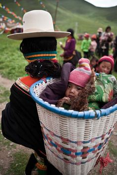 Basket Babe . Tibet