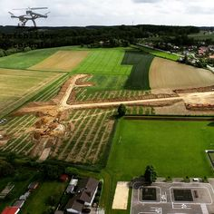 Ein Blick auf das Neubaugebiet in Eichendorf.  #LuftbilderOsterhofen #Eichendorf #Luftbilder #Luftbildaufnahme #Drohne #DJI #Inspire1