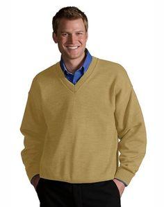 V-Neck Sweater, Machine Washable, Colorfast  #embroidered #logo #custom #screen #sweatshirts #polo #jackets #embroidery #shirts #printed