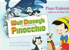 Disney's Pinocchio WDP Lobby Card