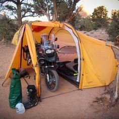 Nomad Motorcycle Tent #lacort