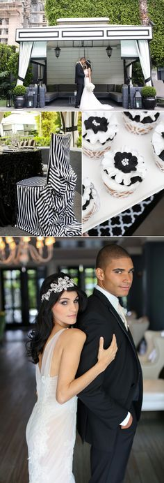 What's black and white and chic all over? This @ViceroySM  wedding photo shoot!