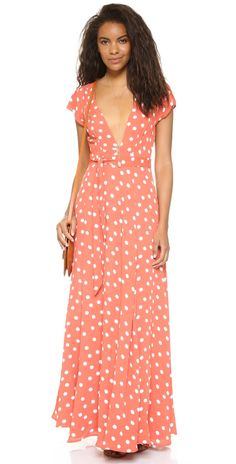 TULAROSA Sid Wrap Dress | SHOPBOP