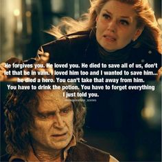 Rumple and Emma. I ship Captain Swan, but this was still heartbreaking because it was an important moment for the two people who loved Neal most.