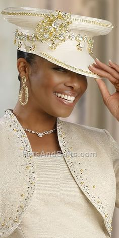 Image detail for -donna vinci couture church hat h1348