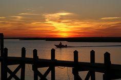 Sunset in Brigantine
