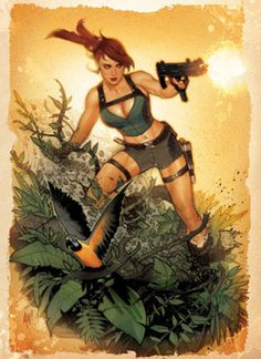 Tomb Raider: Lara Croft by Adam Hughes #tombraider #laracroft #croft #lara #tomb #raider #london #redbus #fanart #riseofthetombraider #tombraiderreborn #tombraider #livingtombraider #tomb #raider #lara #croft #juegos #videojugos #videoconsolas #pc #xbox #ps #paltaformas #aventura #survived #supervivencia #mujeres #guerreras #gaming #videogames #game #adventure #ladycroft #lady #adventure #