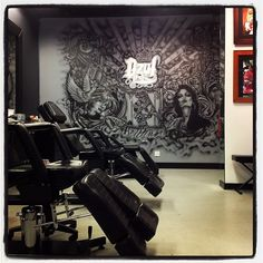 Where I got my first tattoo- Clean, professional, and great artists.  Dzul Ink Lounge in the Belltown Neighborhood of Downtown Seattle, WA