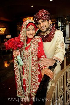 Dulhan Bride Muslim Islamic South Asian Pakistani Desi Wedding Dulha Groom