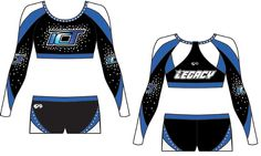 Get Inspired With The GK 2017 Custom Cheer Design Gallery! unique All-Star Cheerleading Uniform Designs All Star Cheer Uniforms, Cheerleading Uniforms, Cheer Costumes, Dance Costumes, Cheer Outfits, Cheer Clothes, Cute Cheer Bows, Cheer Team Pictures, Cheer Dance
