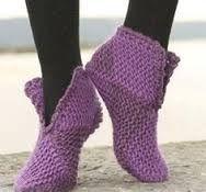 Resultado de imagen para botas tejidas patrones