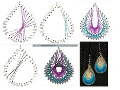 Instructions String Art | Making jewellery using Sting art or line designs (spirographs):