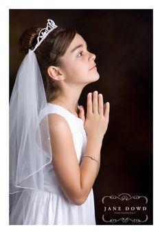 First Communion photos by Jane Dowd Photography