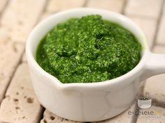 Pesto de leurda Pesto, Palak Paneer, Dressings, Sauces, Salads, Dips