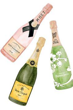 champagne please!