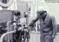 Hans Portele, the first employee,  Mr. Wankel