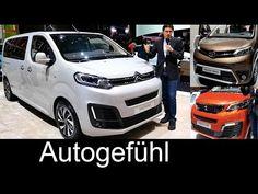 CITROËN SPACETOURER BUSINESS LOUNGE - YouTube Peugeot, Toyota Van, Geneva Motor Show, Lounge, Camper Van, Youtube, Vans, Vehicles, Images