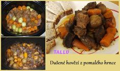 Dušené hovězí z pomalého hrnce - fotoalba ulivatelu - Dáma.cz Ph, Slow Cooker, Beef, Food, Meat, Crockpot, Eten, Crock Pot, Ox