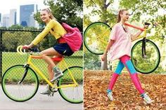 Sporty but girly style