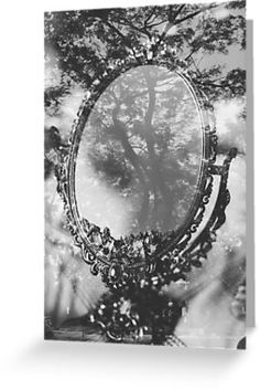 mirror and tree double exposure by Jessica  Lia