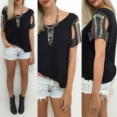 Novidades de blusas bordados!  Veja todos os modelos no site http://ift.tt/PYA077