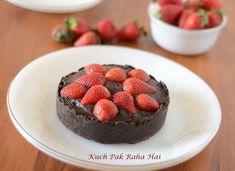 Strawberry and Oreo Tart