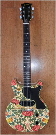 William Morris Guitar - yet to be made real.