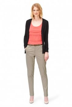 Cotton Tapered Trousers, $50 (in a whole bunch of colors)