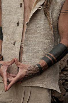 Tribal Pattern Tattoos, Tattoo Tribal, Line Tattoos, Tattoos For Guys, Sleeve Tattoos, Tatoos, Black Band Tattoo, Black Tattoos, Modern Tattoos