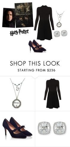"""Professor Snape Chic"" by nereidanelyc on Polyvore featuring Paule Ka, PAS DE ROUGE and Frederic Sage"