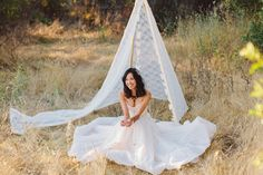 boho weddings | teepee
