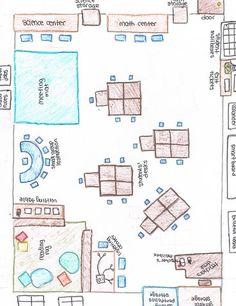 39 Trendy Ideas for classroom seating plan desk arrangements teachers Preschool Classroom Setup, Classroom Organisation, Classroom Environment, Classroom Setting, Classroom Design, Future Classroom, Classroom Themes, Classroom Management, Year 1 Classroom Layout