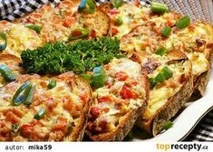 Appetisers, Bread Baking, Vegetable Pizza, Quiche, Hamburger, Sandwiches, Toast, Food And Drink, Menu