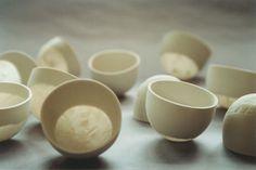 porcelana com papel