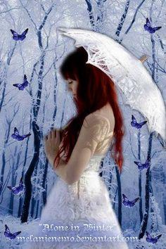 """Alone in Winter"" - Johanna Kurkela, Finnish singer"