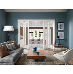 Choose Spacious Verity and Modern Design with French #Doors  #homedecor #interiordesign #homeImprovement