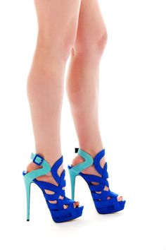 Giuseppe Zanotti Colorblock Platform Sandals