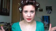 HOW TO: 1940s hair for low maintenance girls, via YouTube.