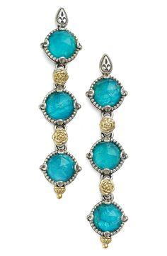 New Konstantino 'Iliada' Triple Drop Earrings,Copper Silver fashion online. [$770]newoffershop win<<