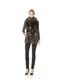 Dawn Levy Women's Candice Down Vest with Fur Trim, http://www.myhabit.com/redirect?url=http%3A%2F%2Fwww.myhabit.com%2F%3F%23page%3Dd%26dept%3Dwomen%26sale%3DA25T9Y3UIFIX0W%26asin%3DB007RG85ZC%26cAsin%3DB007RG86CO