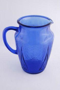 Beautiful Depression Glass Pitcher!